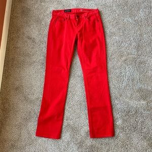 J. Crew matchstick low rise jeans